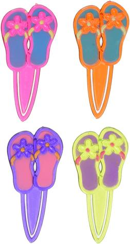 Oasis Supply Colorful Flip Flop Cupcake Decorating Topper Pi