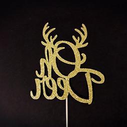 Oh Deer Cake Topper, Oh Deer Baby Shower, Deer Baby Party, W