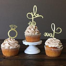 Hinsper OTHER 11 Love Topper, Wedding Food Girls Birthday Ca