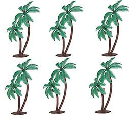 Palm Trees with Coconuts Cake/Cupcake Toppers - 12 pcs by Ba