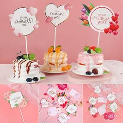 Party Mother's Day Cake Toppers Happy Mother's Day Cupcake P
