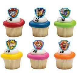 Paw Patrol Ruff Ruff Rescue Cupcake Rings Pack of 24 Assorte