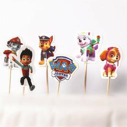 ~Paw Patrols~ Cupcake Toppers 24pcs Party Favor 2 Dozen~