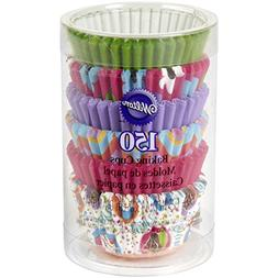 Wilton Pinks and More Multicolor Collection Mini Baking Cups