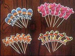 pocoyo cupcake toppers pocoyo birthday party supplies