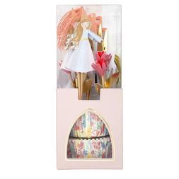 Meri Meri Princess Unicorn Birthday Party Cake Toppers & Cas