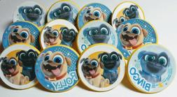 Puppy Dog Pals Cupcake Toppers Party Favor Rings 12ct Pinata