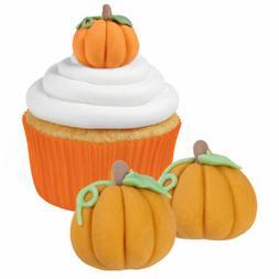 Royal Icing Decorations 12/Pkg-3D Pumpkins