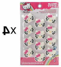Royal Icing Decorations 12/Pkg-Hello Kitty