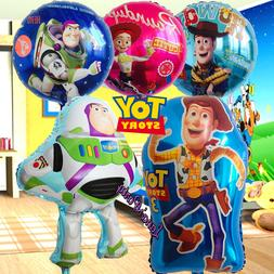 Toy Story Party Latex Birthday Balloons Cupcake Toppers 4 su