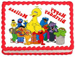 SESAME STREET Party Edible Cake topper image decoration