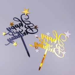Cakelove Shiny Happy Birthday Cake <font><b>Topper</b></font