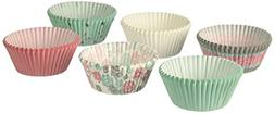 snowflakes christmas baking cups