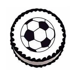 Soccer ~ Edible Image Cake / Cupcake Topper
