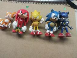 Sonic Character Cake Toppers Cool *You Choose*