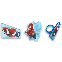 DecoPac Amazing Spider-Man 2 Web Slinger Cupcake Rings
