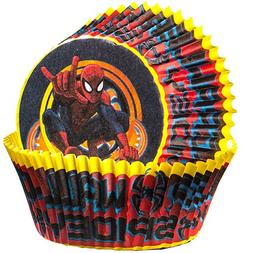 spider man ultimate cupcake wrappers