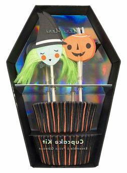 spooky cupcake kit inc 24 ea halloween