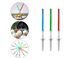 Star Wars Light Saber Cake Cupcake Toppers Picks MAY THE 4TH