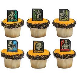 Star Wars Rebels Cupcake Rings-12 Count