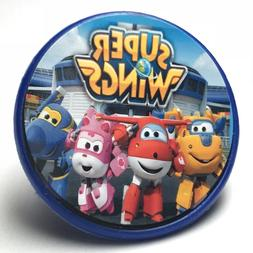 super wings cupcake toppers rings birthday party