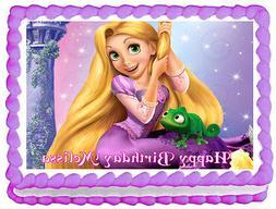 TANGLED Rapunzel Birthday Image Edible Cake topper design