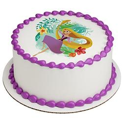 Tangled Rapunzel Fearless Princess Edible Cake Topper or Cup
