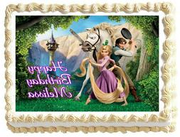 TANGLED RAPUNZEL Image Edible Cake topper party decoration