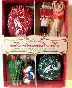 the nutcracker 24 cupcake cups cases toppers
