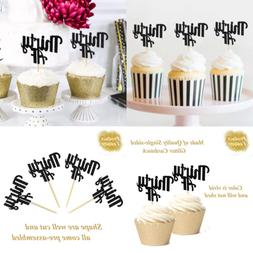 Thirty AF Cupcake Toppers For 30Th Birthday Anniversary Reti