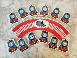 Thomas The Train Tank Engine Cupcake Wrappers & Toppers Kids