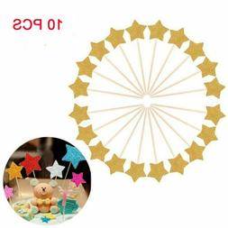 Toppers Cupcake/cake Decor Party Supplies Twinkle Little Sta