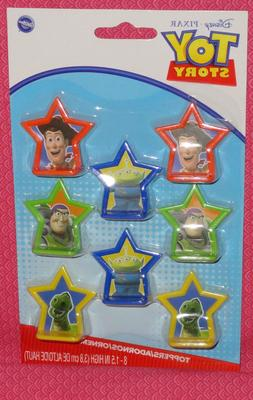toy story buzz cupcake toppers plastic multi