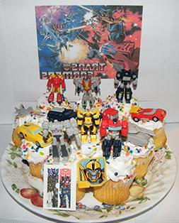 transformers deluxe mini cake toppers
