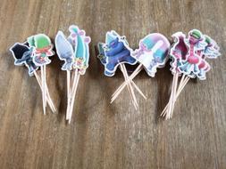 Trolls Princess Poppy Cupcake Toppers Picks Kids Birthday Pa