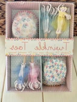 Meri Meri Twinkle Toes Ballerina Cupcake Cases and Toppers 2