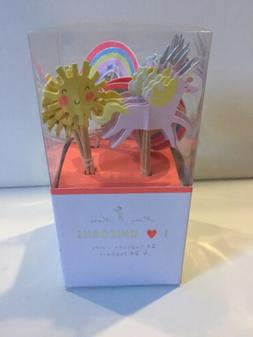 Meri Meri Unicorn Cupcake Toppers Cupcake Cups Paper 24 Part