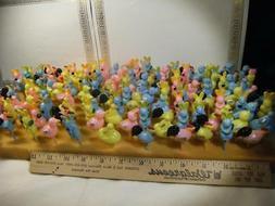Vintage Lot of 144 Cupcake picks, cake toppers.  Spring, bun