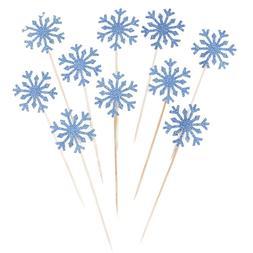 Wholesale 6/10 Pcs Snowflake <font><b>Cupcake</b></font> <fo