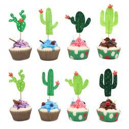 yaaaaasss cactus cupcake toppers fiesta west cacti